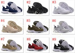 Wholesale Cheap Fly Fishing - 2017 Free Shipping Discount Cheap Wholesale Presto Fly Running Shoes Men Mesh Boost Sports Shoes eur size 40-45