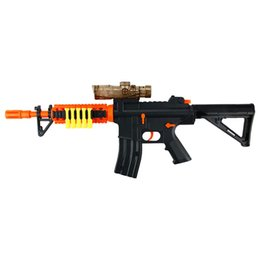 Wholesale Sniper Guns Toys - Plastic Water Gun Toy Soft Bullet Guns Interactive Water Absorb Infrared Sniper Rifle Outdoors Toys For Children Gifts Pistol