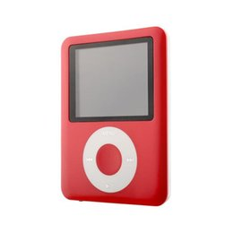 Wholesale Top Slim MP3 GB inch LCD Media Video Game Movie Radio FM th Generation MP3 Music Player Quality Jan6