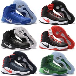 Wholesale Sneaker High Top China - Mens Casual Shoes Hyperdunk 2016 Men Sneakers China High Top Summer Meshs Hyperdunk Green Kids Casual Shoe Sneaker Size7-12