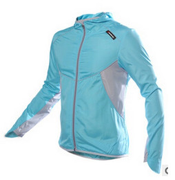 Wholesale Post Springs - Cycling Jersey Bike Bicycle spring jackets and coats Running Long Sleeves Quick Dry Cycling Clothing Shirts Free china post