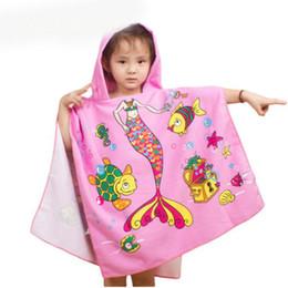 Asciugamano da spiaggia in tessuto in microfibra 120 * 60cm Cartone animato per bambini Asciugamano comodo per bambini supplier easy child da bambino facile fornitori