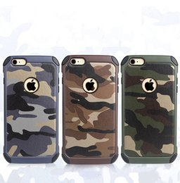 Wholesale Military Camo Case - Military Camouflage Camo Colors Cases For iPhone X 8 Tough Rugged TPU Shockproof Back Cover for iPhone 7 6S Plus 5SE