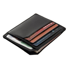 Wholesale Rfid Business Cards - RFID Men Women PU Leather Coin Bag Card Holder Wallets Certificate A322