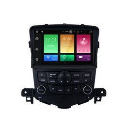 """Wholesale Mobile Tv Receivers - 8"""" Octa Core Android 6.0 Car DVD Receiver For Chevrolet Cruze 2008-2011 GPS Navi RDS WIFI 4G BT OBD DVR Mirror Screen Radio TDA7851 2G RAM"""
