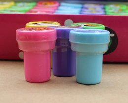 Wholesale Self Inking Stamps Kids - 60pcs set cartoon Self-ink Stamps Kids Party Favors Supplies for Birthday Christmas Gift Boy Girl Goody Bag Pinata Fillers Fun #RG6-5