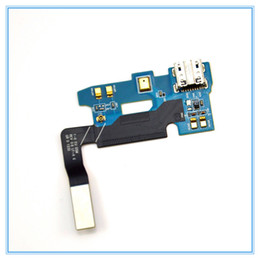 Wholesale Note Ii Docking - For Samsung Galaxy Note 2 II AT&T i317 N7100 N7105 Micro USB Charging Charger Port Dock Connector Flex Cable High Quality Replacement Parts