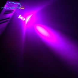 Wholesale Pink Diode - Wholesale- 100 pcs Lot LED 5mm Pink ROUND TOP water clear Urtal Bright Light Bulb led lamp F5MM Emitting Diodes Wholesale