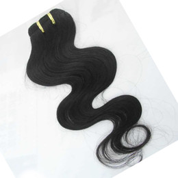 Wholesale Cheap Hair Extensions Fast Shipping - Same quality 10pcs lot wholesale bundles Cheap Indian body wave Human Hair Extensions Order ship fast