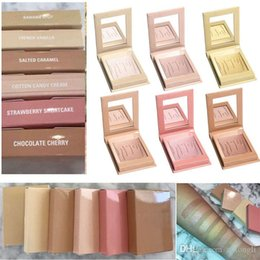 Wholesale Candies Colors - Kylighter Kylie Highlighters Kylie Cosmetics Strawberry Shortcake Candy Cream Salted Caramel Banana Split Kylighter French Vanilla 6 Colors