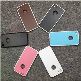 Wholesale Six Plus - 2017 New 360 degree Full Cover Silicone Shell with six colors For iPhone 6 6s Plus 7 plus