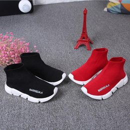 Wholesale Cheap Wholesale Baby Sneakers - cheap kids shoes baby running sneakers boots toddler boy and girls Wool knitted Athletic socks shoes 1648