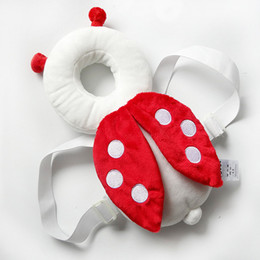 Wholesale Baby Fall Cloth - Wholesale- JJOVCE Baby Rattle Newborn Head Restraints Toddler Protection Pad Fall Headrest Pillow Doll Infant Child Neck Nursing Cushion