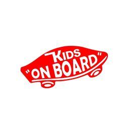 Wholesale Green Wall Board - Handicrafts Vinyl Decals Car Stickers Glass Stickers Scratches Stickers Wall Die Cut Bumper Accessories Jdm Internal 'Kids On Board'