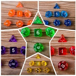 Wholesale Bones Number - Number Dice Game Board Role Playing Games Riotous With Colour Galloping Dominoes Have Size Devil Bones New 4 5dx G