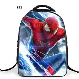 1787e30857f5 Chinese Comics Hero Spiderman Backpack Children Super Hero spider Man  School Backpacks Boys Cartoon Superman Kids