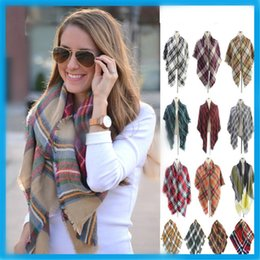 Wholesale Cashmere Ladies Scarfs Wholesale - Wholesale-Fashion women winter Scarf Imitation cashmere scarf ladies scarf Fashion scarfs warm shawl warm scarf A0461