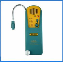Wholesale Halogen Gas Detector - Wholesale- SF6 Gas Detector Smart Sensor AR5750B Refrigerant Halogen Gas Leak Alarm Meter Tester Gas Analyzer
