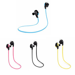 Wholesale Best Universal Bluetooth Headset - H7 Bluetooth V4.0 Sport earphone And Noise Reduction Stereo Headset headphone Best CSR high quality For iPhone 7 samsung s7 edge Wireless