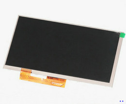 """Wholesale Lcd Replacement Screens For Tablets - Wholesale- New LCD Display Matrix For 7"""" Supra M72DG 3g TABLET 1024*600 LCD Screen Panel Lens Frame Module replacement Free Shipping"""