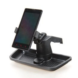 Сотовый телефон для хранения автомобилей онлайн-Wholesale- car Car Cell Phone GPS Bracket Dash Mount Holder Storage Organizer Box Fit For Wrangler 2012-2016