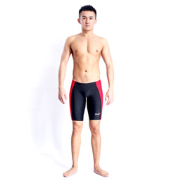 Wholesale Boy Short Swim Bikini - HXBY Racing Swimwear Men Swimsuit Boy Swim Shorts Mens Swim Briefs Men's Swimming Trunks For Bathing Shorts For Men Swimsuits