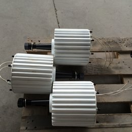 Wholesale Magnet Wind Generator - 1.5kw 48V 96V low speed permanent magnet motor wind generator