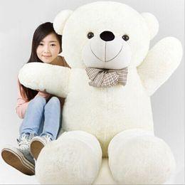 Wholesale Low Price Giant Stuffed Bears - 220cm Giant teddy bear soft plush toys Life size teddy bear soft stuffed Children soft peluches lowest price Christmas gift