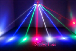 Wholesale Scanner Led Stage Light - Wholesale- Scanner Eight Eyes LED RGBW CREE Beam Scan Stage Effect Light  Eight-eyes Quad Beam bar disco party light efeito de luz