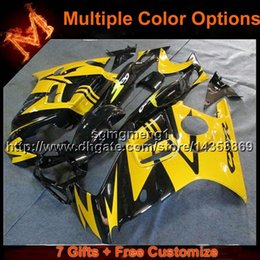 Wholesale Honda F3 Plastics - 23colors+8Gifts red white motorcycle cowl for HONDA CBR600F3 1997-1998 F3 97 98 ABS Plastic Fairing