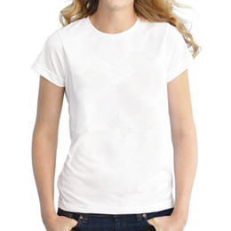 Wholesale Grey Collared Shirt Woman - Off White Camping T-shirts Black Blue Grey Solid Color womens Short Sleeve Round Collar Female Hiking T Shirt Femme Size XS-XXL