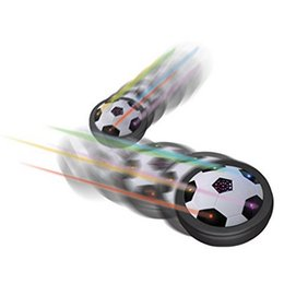Wholesale Electric Cushion - Colorful LED Light Electric Suspended Game Lighting Air Cushion Football Sports Toy Indoor Football Field Gift Toys