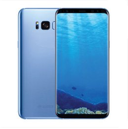 Wholesale Android Cell Phone Goophone - goophone S8 android 7.0 cell phone unlocked MTK6592 Octa core 4G RAM 64G ROM shown 4G LTE 2560x1440 GPS smartphone