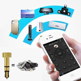 Wholesale Remote Control Mobile Infrared - Wholesale-Mini useful Audio Intelligent Mobile Smart Infrared Universal Wireless Ir Remote Control for Tv Projector Air Conditioner lxl084
