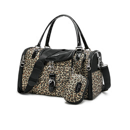 Wholesale Leopard Travel Bags - Free Shipping Worldwide Leopard Style Portable Pet Dog and Cat Travel Bag