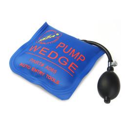 Wholesale Klom Locksmith Tools - KLOM PUMP WEDGE LOCKSMITH TOOLS Auto Air Wedge Lock Pick Open Car Door Lock Medium Blue Size