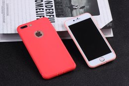 Wholesale Perfect Cover - Colorfu Perfect iphone 7 case Thin light cover case for iphone 7 7plus good soft tpu case