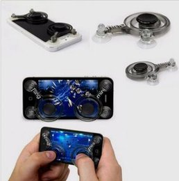 Wholesale Helicopter Android Remote Control - Fling Mini Joystick for RC Airplanes Helicopter Wifi Remote Control Smartphones iphone Android ipad with Retail Box CCA6215 300pcs