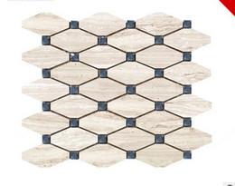 Керамическая плитка онлайн-Фабрика прямой продажи износостойких восьмиугольный натуральный мрамор материал Украшение дома Спальня установка стены керамическая плитка