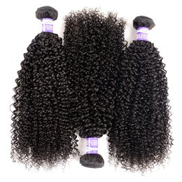 Canada Deep Kinky Curly Brazilian Virgin Hair Body Wave Bundles Remy Hair 8-28 pouces Natural Color 100 Human Hair Weave Extensions Soie Straight 14 inches straight weaves promotion Offre