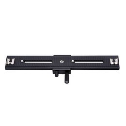 "Wholesale Dc Studios - Wholesale- Photo Studio Accessories LP-03 250mm Movable Range 2 Way Macro Focusing Rail Slider For DSLR and DC with standard 1 4"" screw"