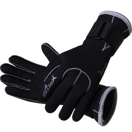 Wholesale Dive Sail mm Neoprene Diving Gloves High Quality Gloves for Swimming Keep Warm Swimming Diving Equipment