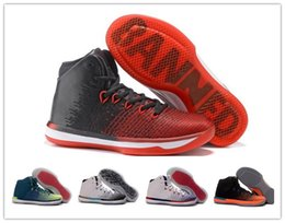 Wholesale Usa Shoes For Men Cheap - New 2007 Top Quality Retro 31 Banned Basketball Shoes Cheap For Mens XXXI Sports 31s N7 USA Athletic Rio Training Sneakers With Box