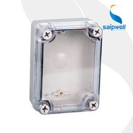 Wholesale Box Ds - Wholesale- DS-AT-0811-S 80*110*45mm 2014 Newest Large IP66 ABS Waterproof Switch Box IP66 (Screw Open -Close Type)