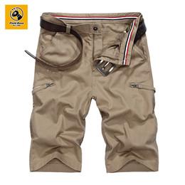Wholesale File Zipper - Wholesale- Filed Base Summer Shorts for Mens Fashion Knee Short Pants Casual Men Shorts Cotton Style 72D60513A