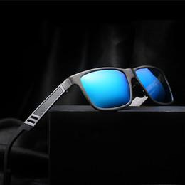 Wholesale Factory Frames - Good Quality Fashion Aluminum Magnesium HD Polarized Sunglasses Men Classic Driving Eyewear UV400 Men Driving Sunglasses Factory Selling