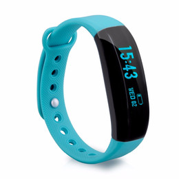 Wholesale V2 Android - Smart Band V2 wristband Fitness Activity Tracker Bluetooth 4.0 Smartband Sport Bracelet for IOS & Android Veryfit Waterproof