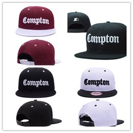Wholesale Snapback Hats Compton - 2017 Snapback Giants Hats Starter Compton for Men And Women Adjustable Baseball Caps Hiphop Bboy Dancer Cap DHL Free