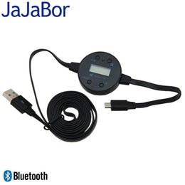 Wholesale Car Dongle - Wholesale-Handsfree Talking High Fidelity Bluetooth Audio FM transmitter Wireless Music Dongle For Car For iphone Sumsung