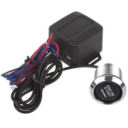 Wholesale Automotive Switches - 12V Automotive Engine Start Push Botton Ignition Switch for All Car CEC_627